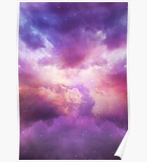 The Skies Are Painted (Cloud Galaxy) Poster