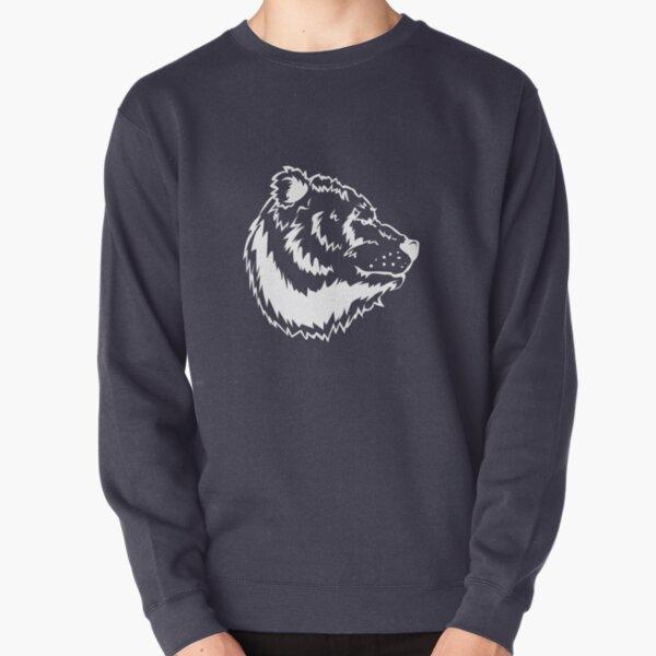 Waving Bear Tri-blend T-Shirt Pullover Sweatshirt