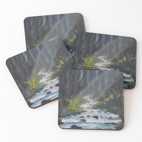 Light from the shadows shall spring Coasters (Set of 4)