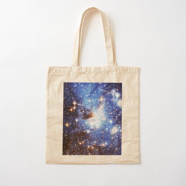 Blue Galaxy 3.0 Cotton Tote Bag