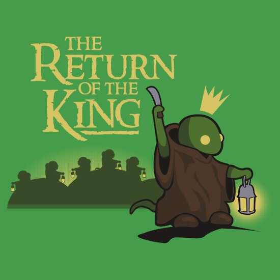 TShirtGifter presents: Return of the King