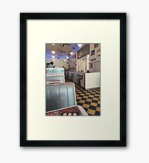 50s. Framed Print