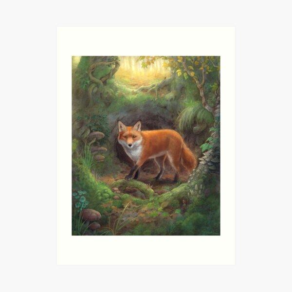 The Fox Den Art Print