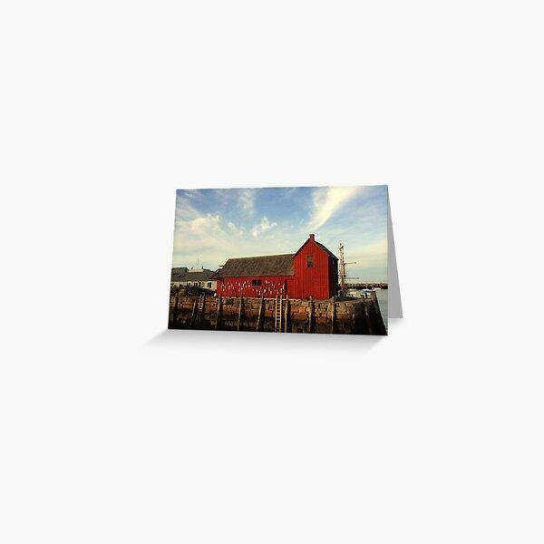 Rockport, MA Motif #1 Greeting Card