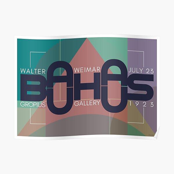 Bauhaus Exhibition Poster III Poster