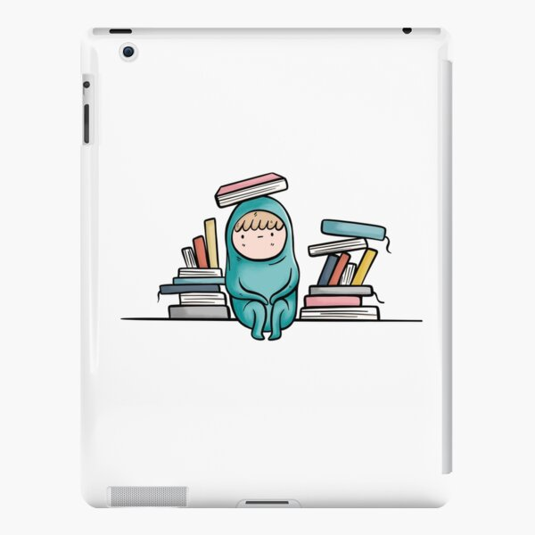 Book Reading Introvert Problems iPad Snap Case