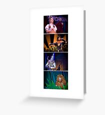 Off To See The Wizard-Four Friends Greeting Card
