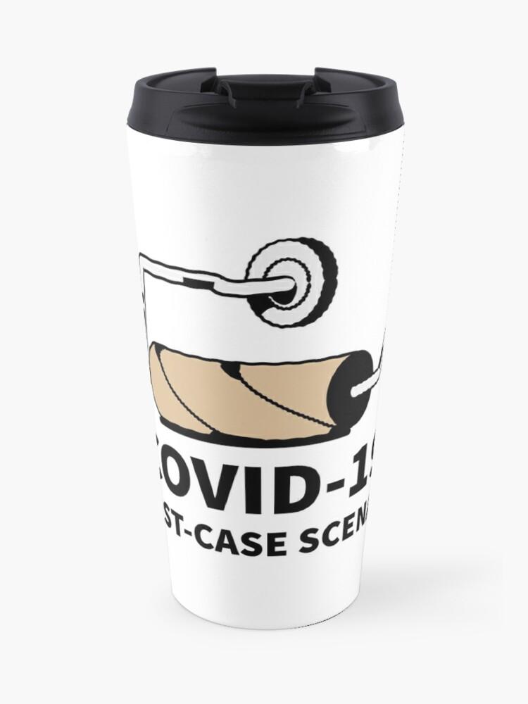 "COVID-19: the worst (humorous) scenario"" Travel Mug by ErenStream    Redbubble"