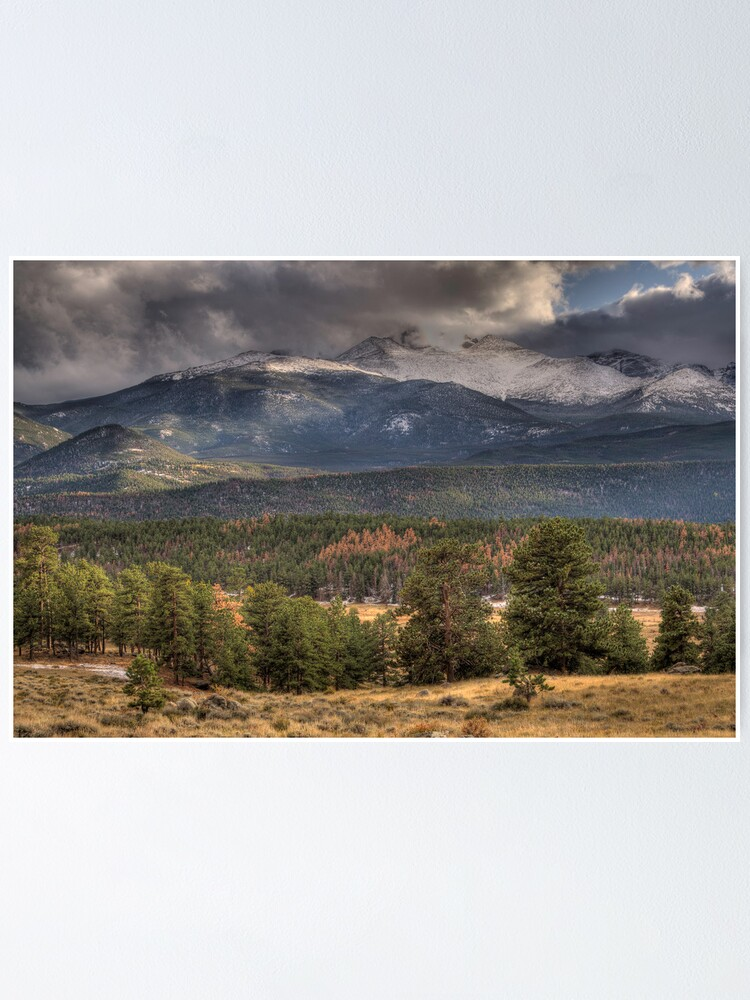 Alternate view of Fall  In Rocky Mountain National Park  Poster
