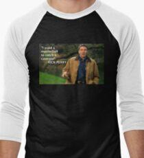Rick Perry Funny 1 Men's Baseball ¾ T-Shirt