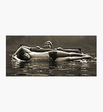 Man Overboard Photographic Print