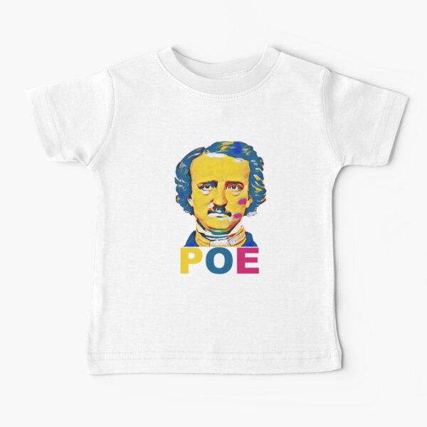 Edgar Allan Poe Vintage Baby T-Shirt