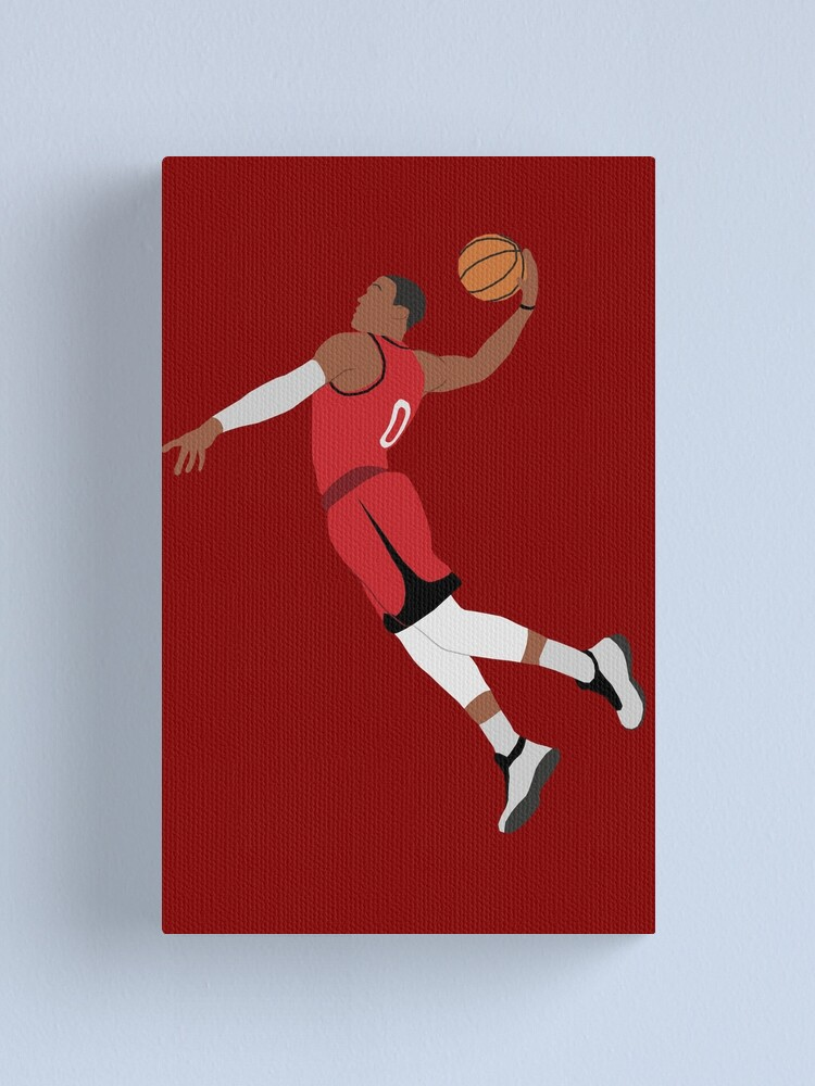 RUSSEL WESTBROOK Houston Rockets POSTER Russel westbrook canvas print art