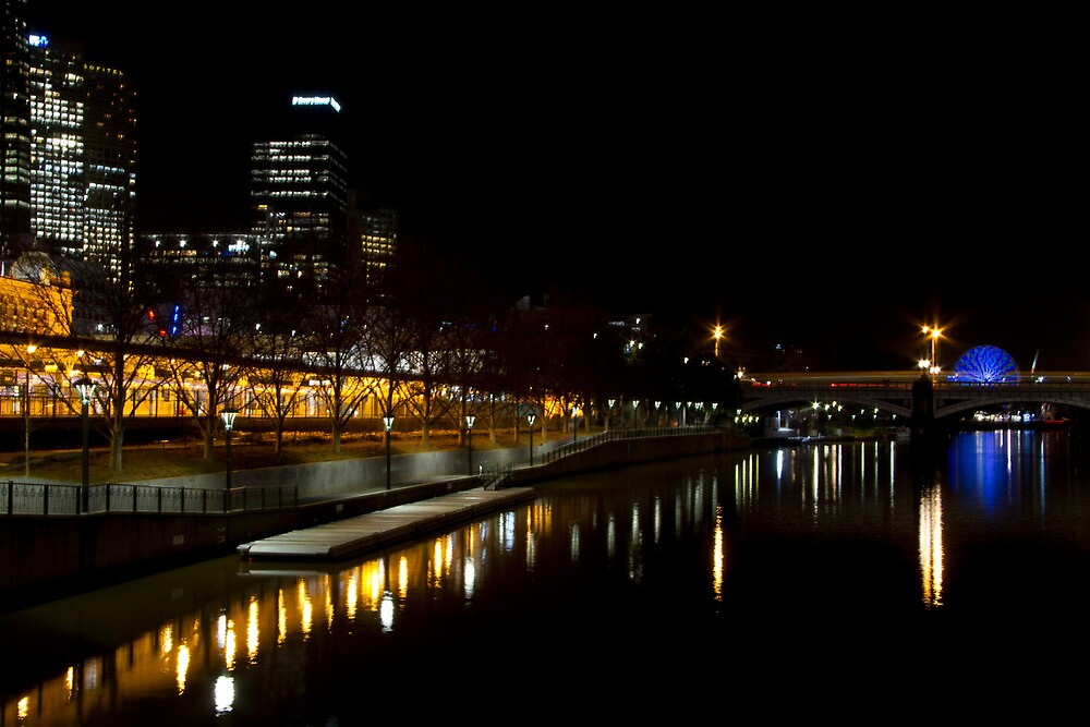 Melbourne City Yarra View by sg19er