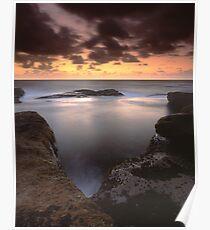 """Gleaming"" ∞ Little Bay, NSW - Australia Poster"