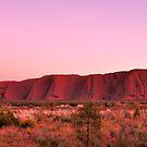Ayers Rock Sunrise by Karina Walther