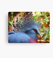 Regal Blue Canvas Print