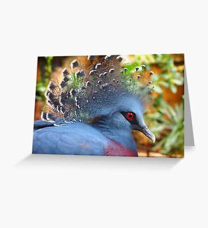 Regal Blue Greeting Card
