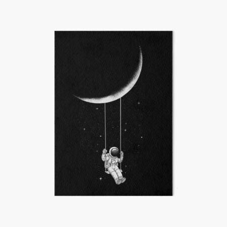 Moon Swing Art Board Print