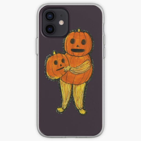 Pottsfield-Inspired Pumpkin Person iPhone Soft Case