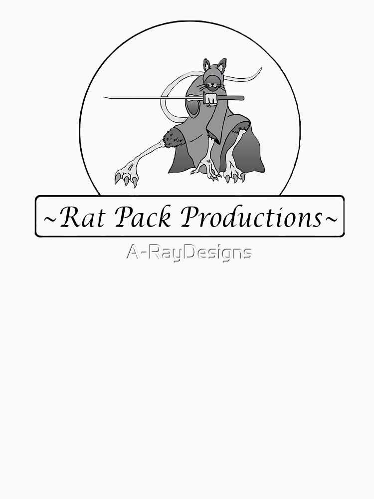 Rat Pack Tee by A-RayDesigns