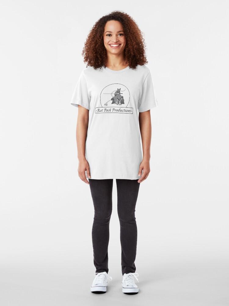 Alternate view of Rat Pack Tee Slim Fit T-Shirt