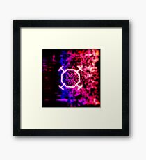 Live Wire Framed Print