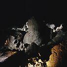 Lake Winnemucca Petroglyphs by Quixotegraphics