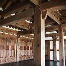 Timber Pavilion Interior, Jeonju by Jane McDougall