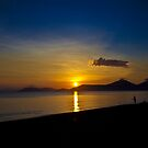 Half Moon Bay -  Cairns Australia by Anthony Surace
