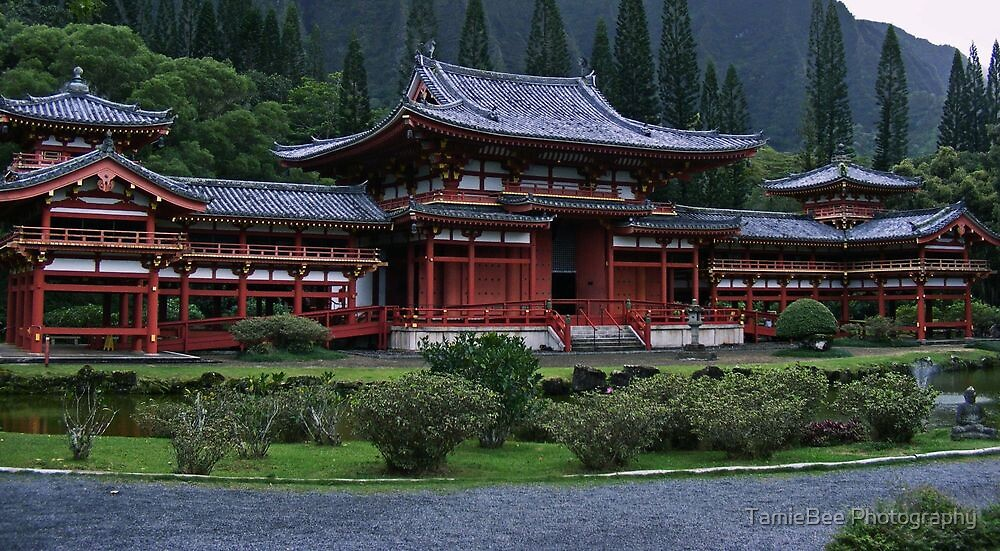 Buddhist Temple by TamieBee Photography