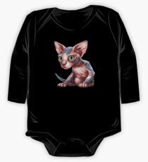 Cat-a-clysm: Sphynx kitten - Classic One Piece - Long Sleeve