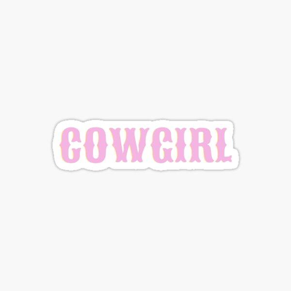 Cowgirl Chic Sticker