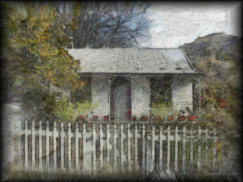 Settlers Cottage, Arrowtown, New Zealand by Dave Morrison