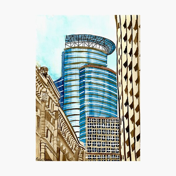 Capella Tower in Downtown Minneapolis Photographic Print