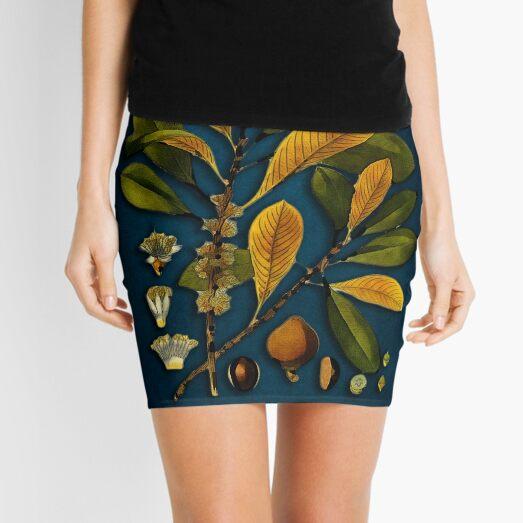 tree Palaquium gutta Mini Skirt