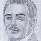 Clark Gable by Bobby Dar