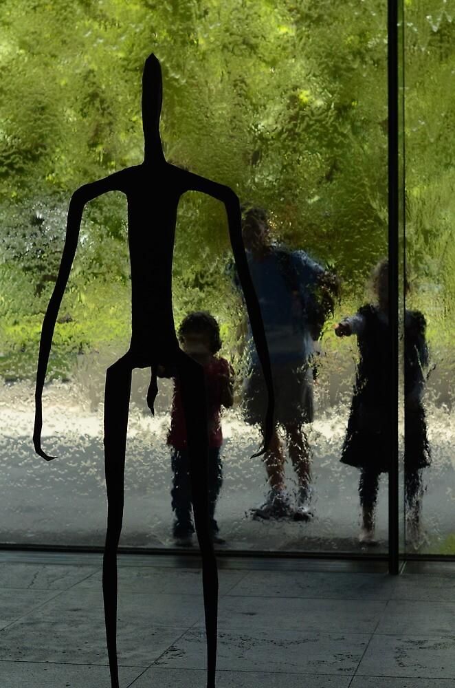 Looking inside art by Mick Kupresanin