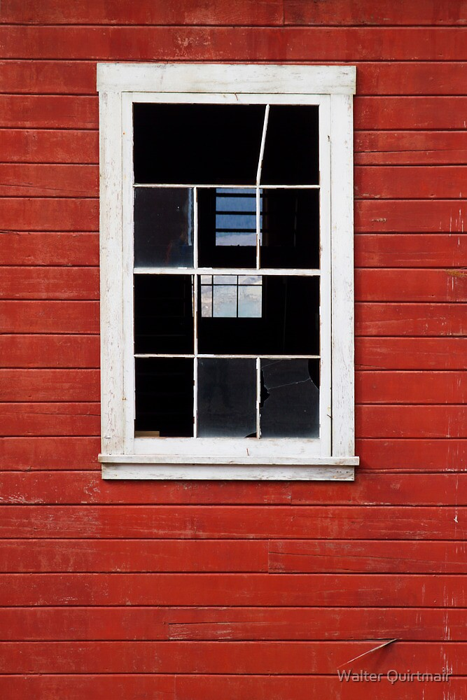 Old Window by Walter Quirtmair