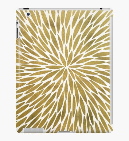 Golden Burst iPad Case/Skin