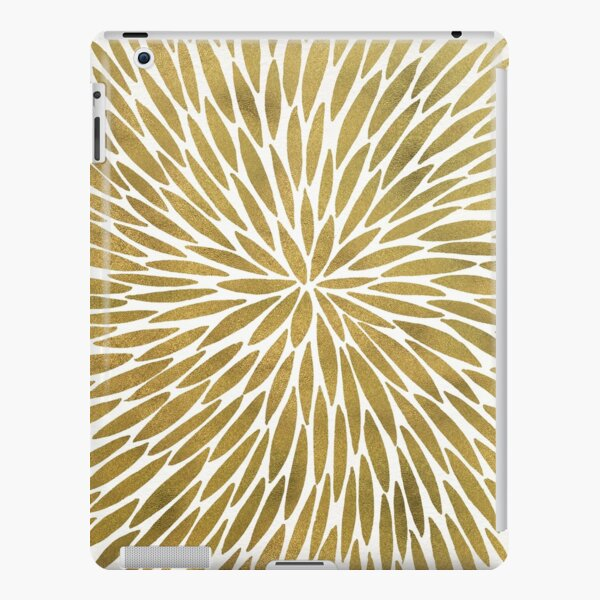 Golden Burst iPad Snap Case