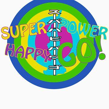SUPER HAPPY POWER GO! by digitalsprawl