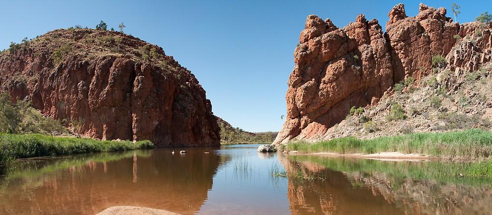 Glen Helen Gorge - Australian Outback by Bearfoote