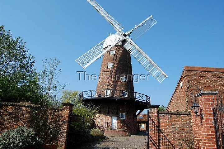 GEORGE GREENS WINDMILL, SNEINTON, NOTTINGHAM by The-Stranger