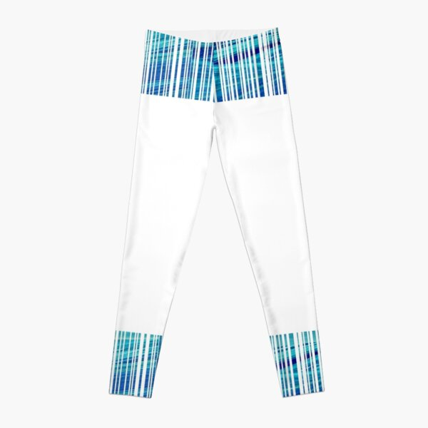 blue code Leggings