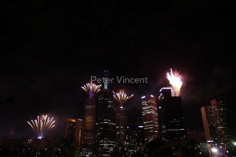 New Years of Melbourne by Peter Vincent