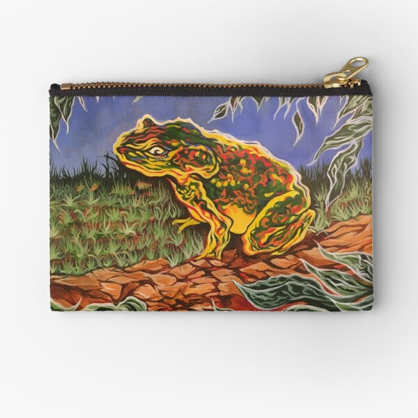 Toad Zipper Pouch