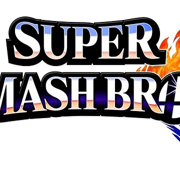 Super Smash Bros Logo by Xithyll