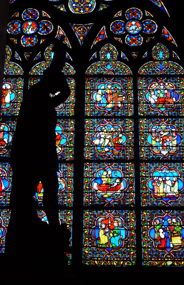 Stained Glass, Westminster Abbey by davefozz