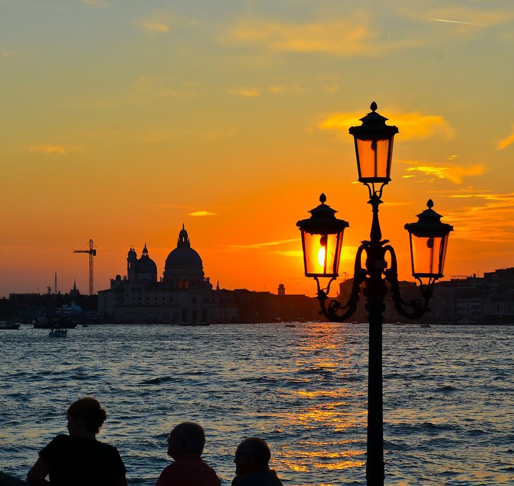 Venice Sunset by davefozz